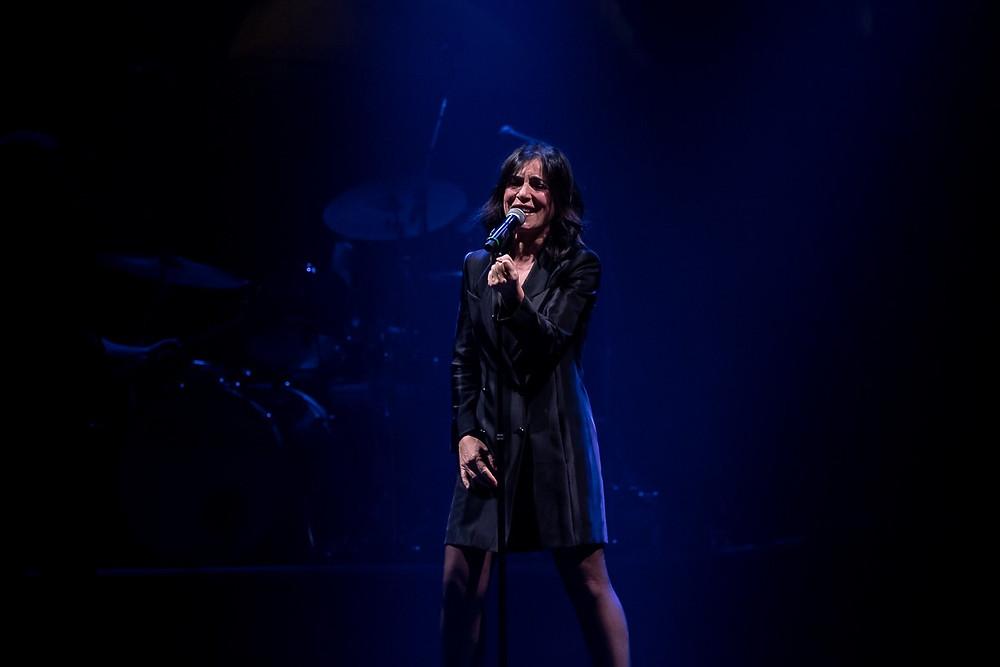 Paola Turci in concerto ieri sera al Teatro Verdi di Firenze