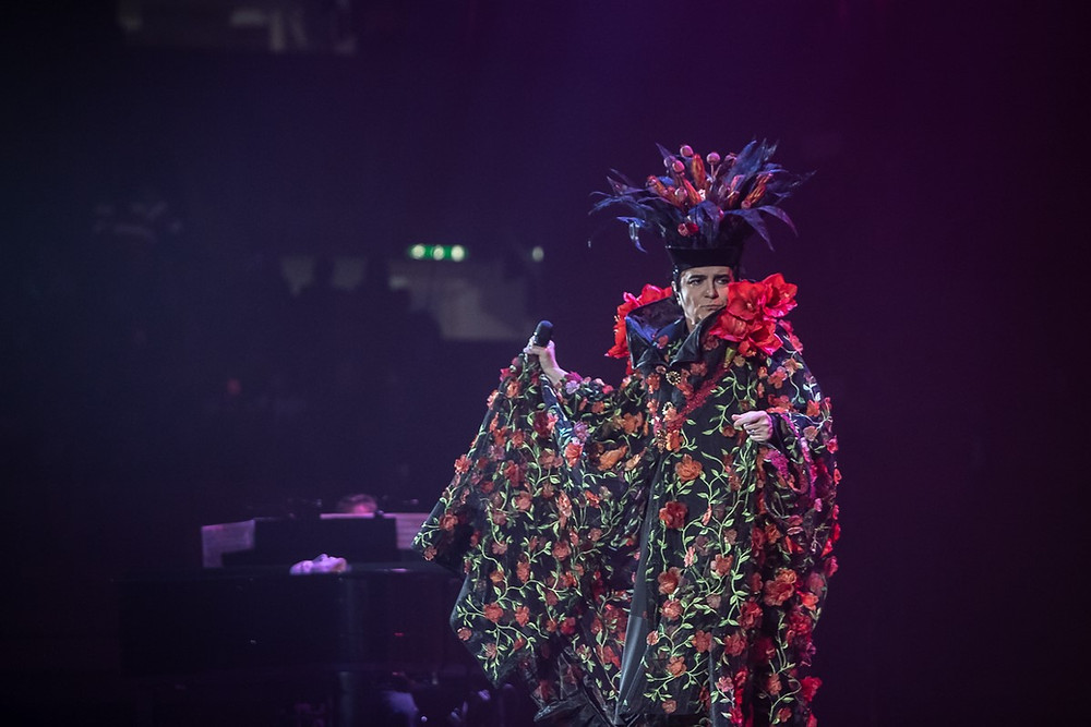 Renato Zero ieri sera al Modigliani Forum di Livorno
