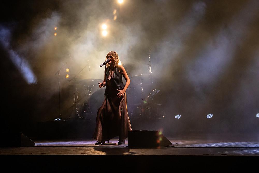 Lo show di Irene Grandi nell'ultima tappa del suo tour