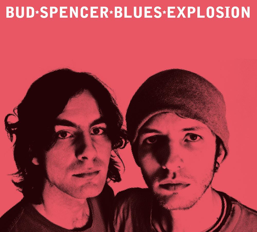 La copertina del primo album dei Bud Spencer Blues Explosion, dal titolo omonimo, uscito nel 2009