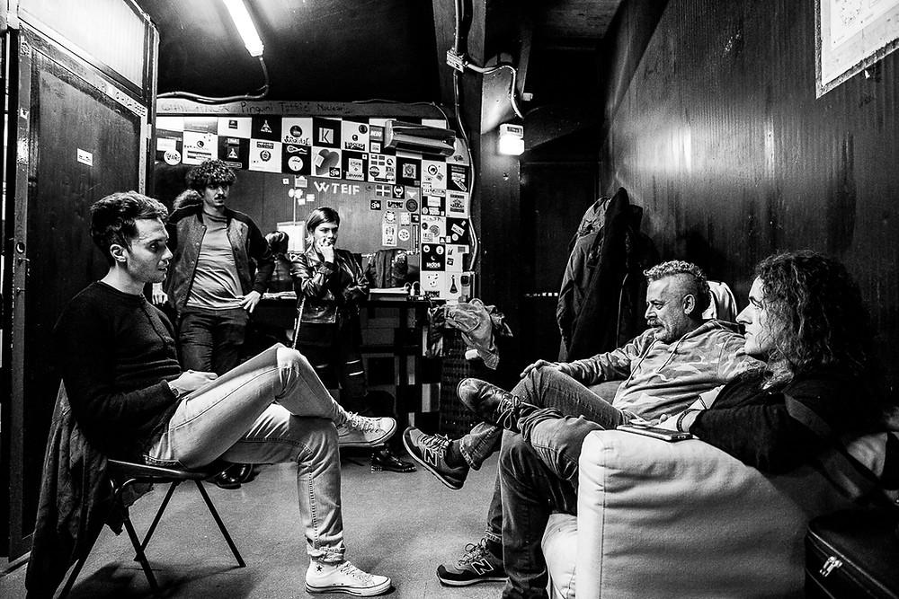 """Davide """"Dudu"""" Morandi e Francesco """"Fry"""" Moneti intervistati da Sacha Tellini"""