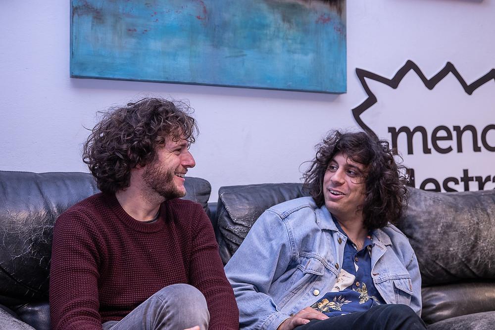 Cecco e Cipo intervistati da Rockography