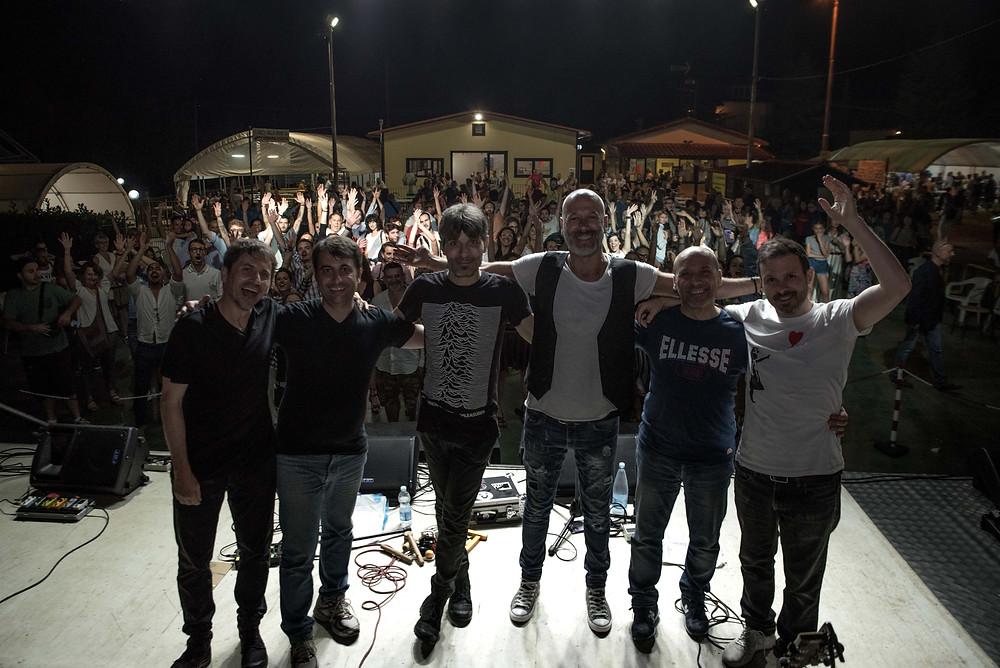 Una foto della Rino Gaetano Tribute Band - Tavarnelle di Cortona