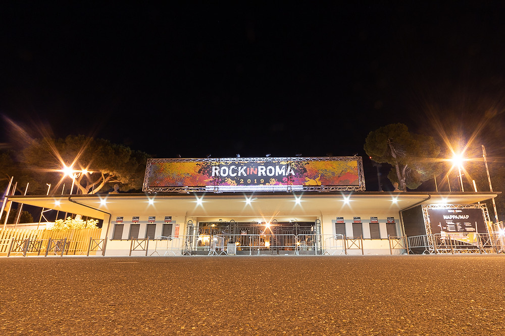 L'ingresso al Rock in Roma