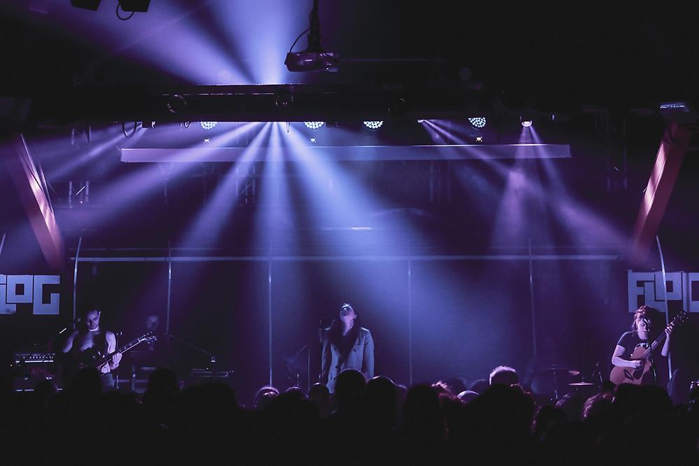 La Rappresentante di Lista in concerto all'Auditorium Flog di Firenze