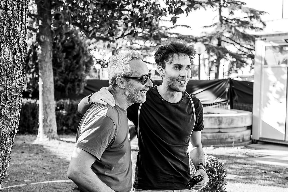 Marco Rovinelli e Sacha Tellini al Rino Gaetano Day 2019