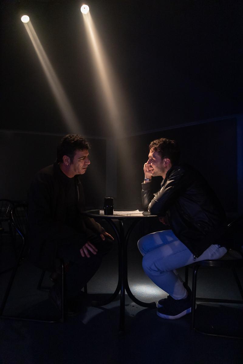 Sacha Tellini intervista Bobo Rondelli all'Auditorium Flog di Firenze