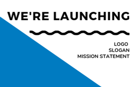 Company Announcement: New Logo, Slogan, and Mission Statement