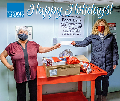 Lofthouse and Staff Donate to Local Food Bank
