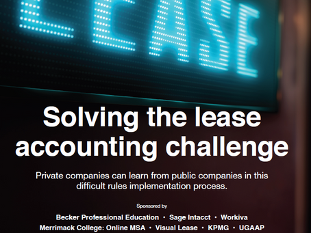 Solving the lease accounting challenge