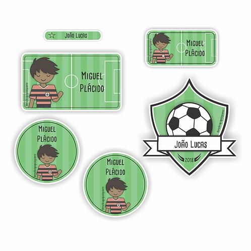Adesivo Futebol Rubro Negro - Kit 02