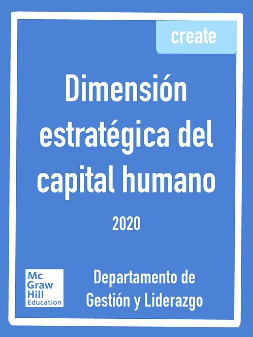 Dimensión estratégica del capital humano