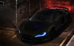 Darleen & Gregg: Audi R8 *The Hood