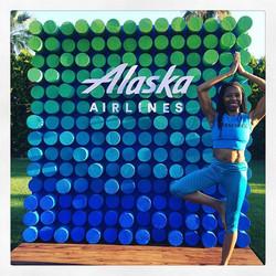 Darleen: Thanks Alaska Airlines!