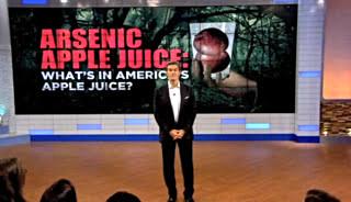 Dr Oz: Arsenic Apple Juice