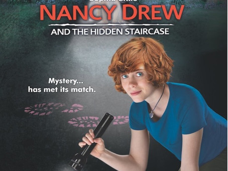 """Nancy Drew and the Hidden Stair Case, a re-imagined, """"She-Too Movement"""""""