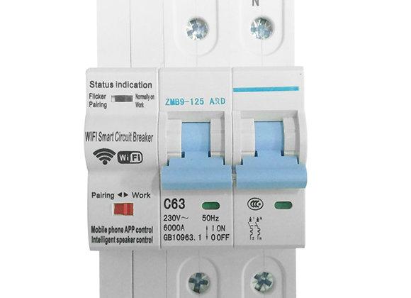 Interruptor Termomagnetico Inteligente Wifi 2P
