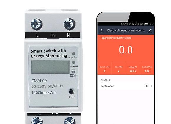 Medidor de Energía Inteligente Wifi