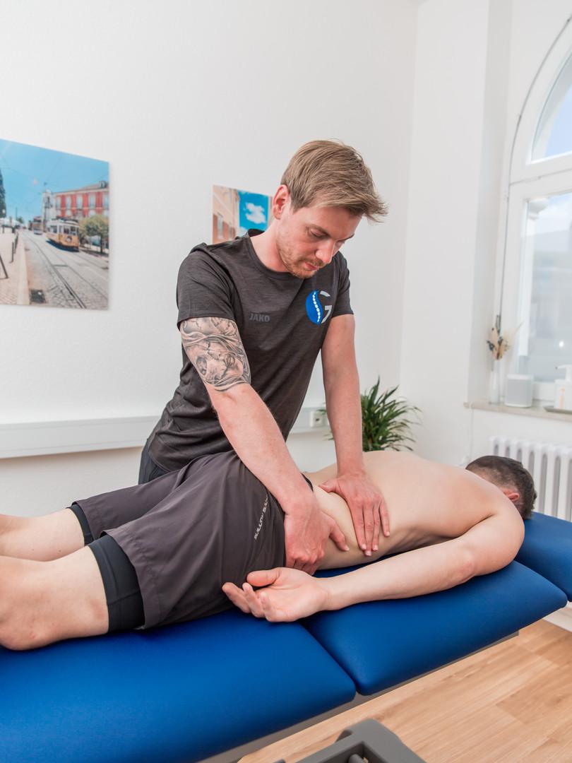 Physiotherapiebehandlung