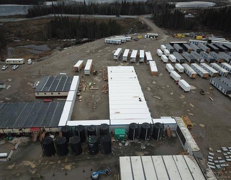 Construction Modular Camp
