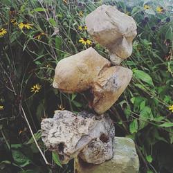 Rocks who lean
