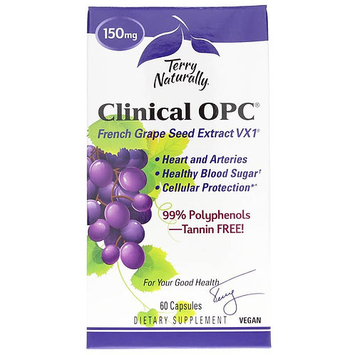 Clinical OPC® Grape Seed Extract by Terry Naturally