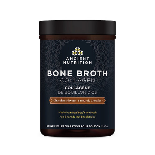 Bone Broth Protein Chocolate by Ancient Nutrition/Dr. Axe