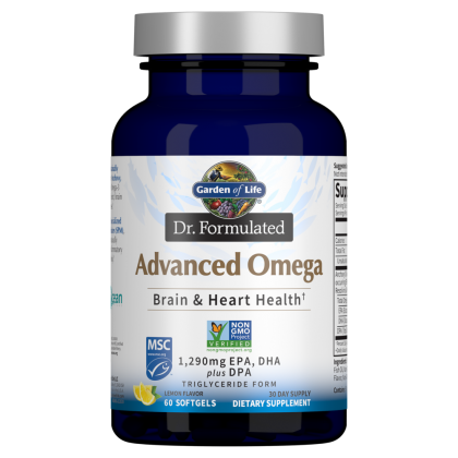Dr. Formulated Advanced Omega by Garden of Life
