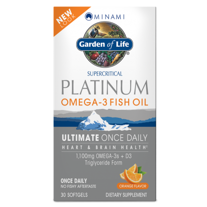 Omega 3 Fish Oil Platinum by Garden of Life