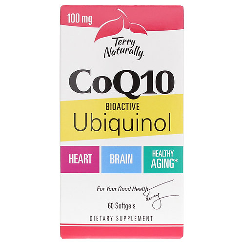 CoQ10 Ubiquinol by Terry Naturally