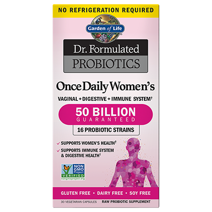 Dr. Formulated Probiotic Women's Once Daily 50 Billion by Garden of Life