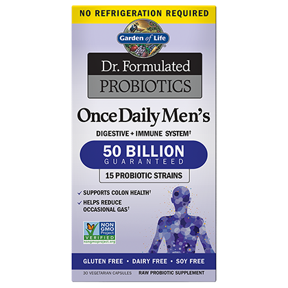 Dr. Formulated Probiotic Men's Once Daily 50 Billion by Garden of Life