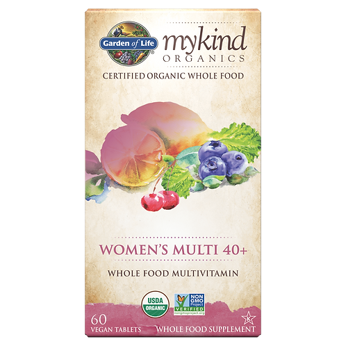 mykind Organics Women's Multi-Vitamin 40+ by Garden of Life