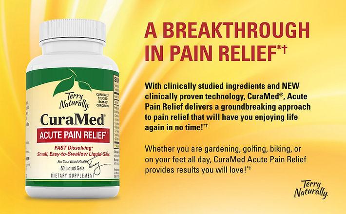CuraMed Acute Pain- poster- Breakthrough
