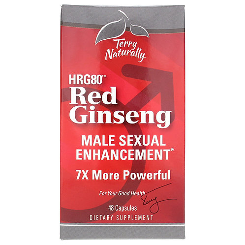 Red Ginseng Male Sexual Enhancement by Terry Naturally
