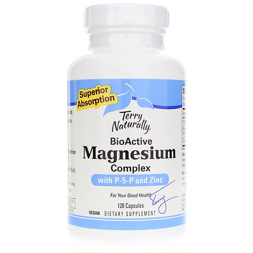 BioActive Magnesium Complex (P-5-P) by Terry Naturally