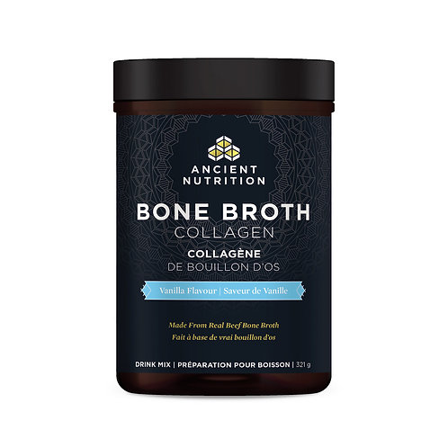 Bone Broth Protein Vanilla by Ancient Nutrition/Dr. Axe