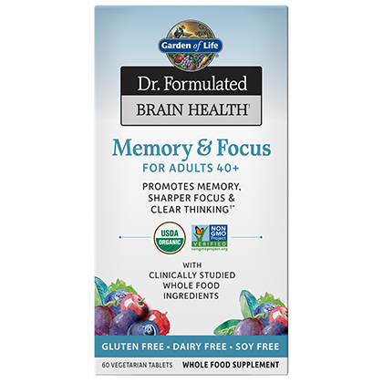 Dr. Formulated Memory & Focus by Garden of LIfe