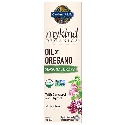mykind Organics Oil of Oregano by Garden of Life