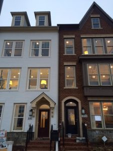 New Construction Town Homes At Crown In Gaithersburg Md