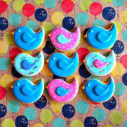 custom bird cookies