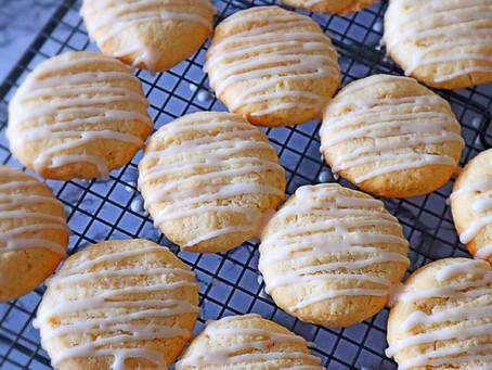 Lemon & Coconut Cookies
