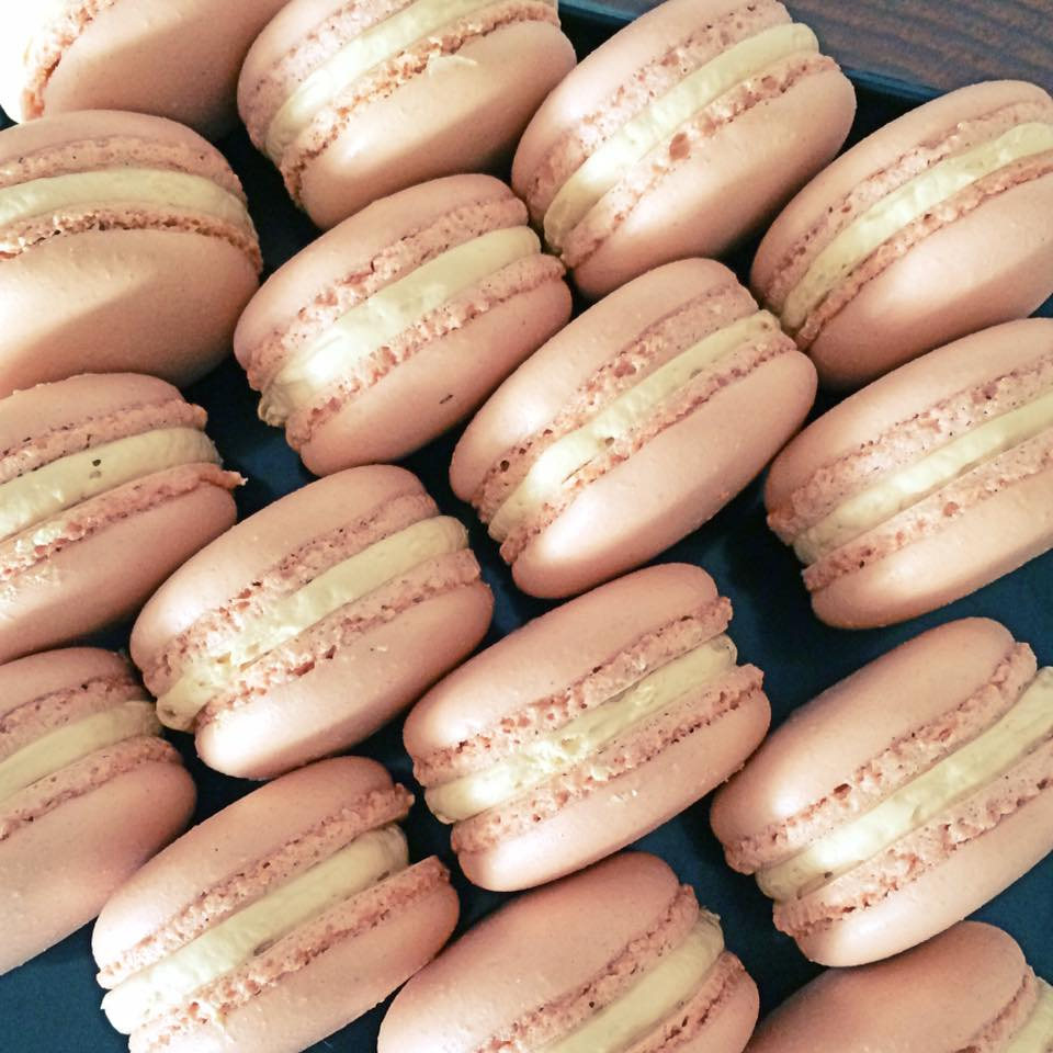 dusty macarons