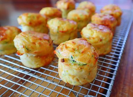 Zucchini & Sweet Potato Bites