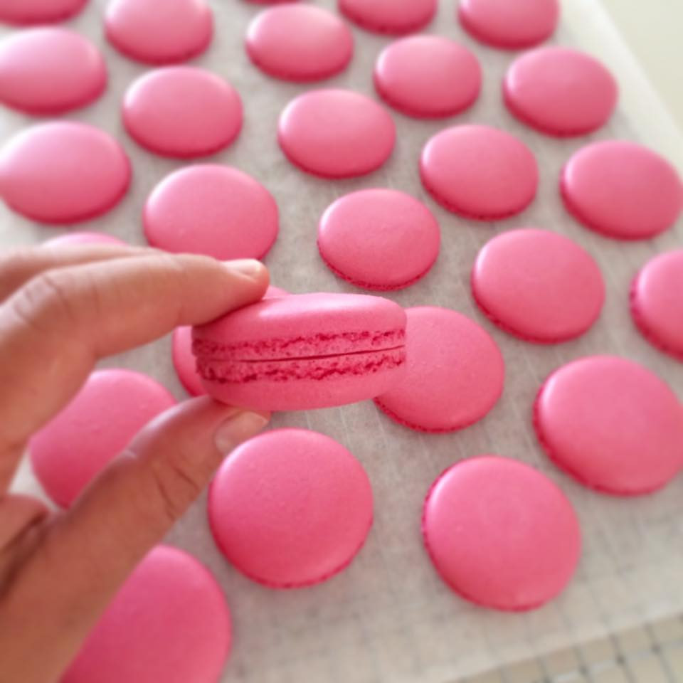 this year I have entered macarons