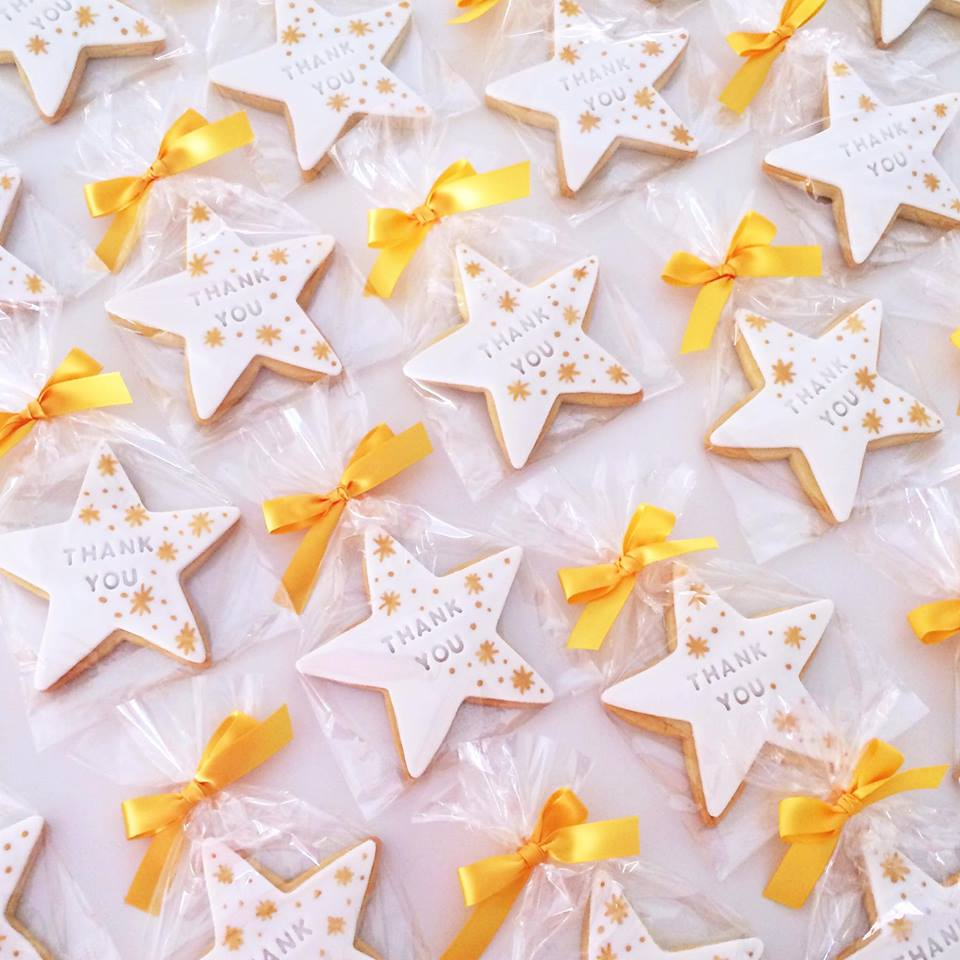 twinkle little star cookies