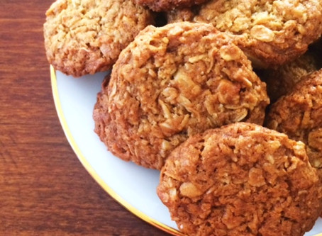 A delicious ANZAC biscuit recipe and why we should count our blessings