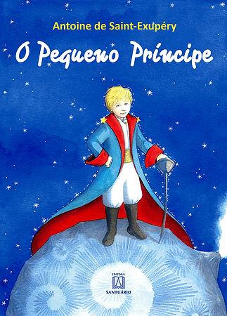 O Pequeno Príncipe publicado pela Editora Santuário com ilustrações de Veruschka Guerra