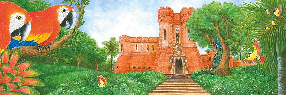 No coração do castelo, livro da escritora Graça Brennand publicado pela Fundação Ricardo Brennand