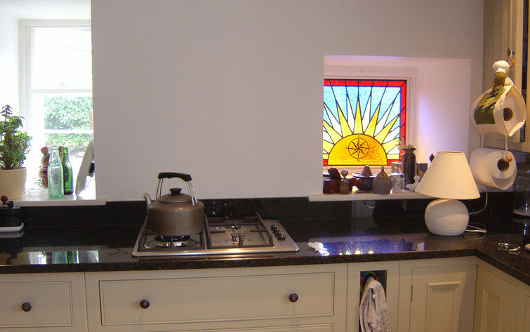 Sun in the kitchen